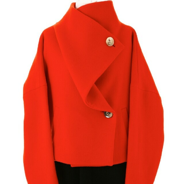 ENFOLD(エンフォルド)のEnfold ショートドルマンコート レディースのジャケット/アウター(ノーカラージャケット)の商品写真