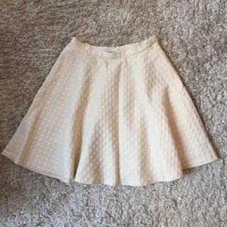 Noble - Spick & Span Noble オフホワイト フレアスカート