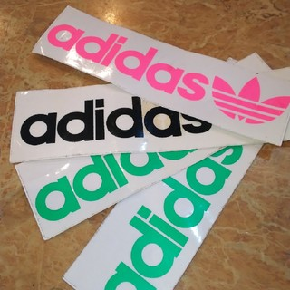 adidas - アディダスステッカー新品