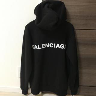 Balenciaga - BALENCIAGA  プリント パーカー
