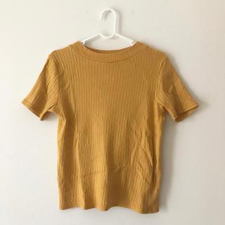 アーバンリサーチ(URBAN RESEARCH)のUR 半袖リブニット(Tシャツ(半袖/袖なし))