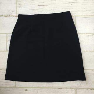 GU - 【タグ付き新品】GUジーユーカラーミニスカートブラック黒色ベーシック着回し女子力