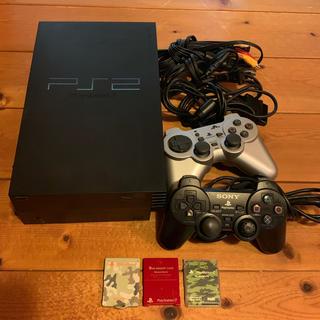 プレイステーション2(PlayStation2)の値下!PS2 本体 SCPH-50000 コントローラー メモリーカード3 匠(家庭用ゲーム本体)