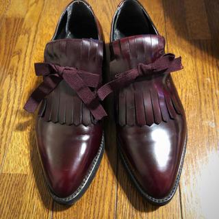 プラステ(PLST)のPLST 本革ローファー  美品38インチ(ローファー/革靴)