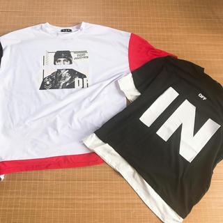 ハレ(HARE)の韓国風デザインTシャツ(シャツ)