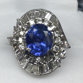 プラチナサファイア(リング(指輪))