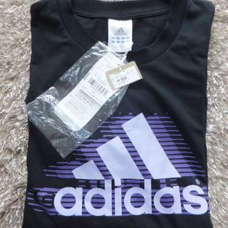 アディダス(adidas)の新品 アディダス CLIMALITE COTTON 長袖Tシャツ(黒)(Tシャツ/カットソー(七分/長袖))