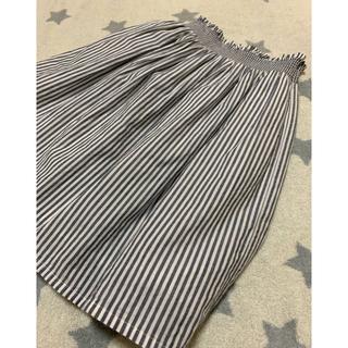 GU - ガールズ☆シャーリング スカート 110