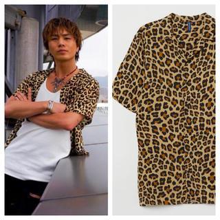 エイチアンドエム(H&M)の【H&M】新作&新品 CELINE モデル レオパード シャツ(シャツ)