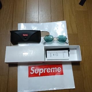 シュプリーム(Supreme)のSupreme - River Sunglasses Green19ss aw(サングラス/メガネ)