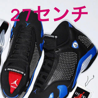 Supreme - Supreme Air Jordan 14 Black US9 エアジョーダン
