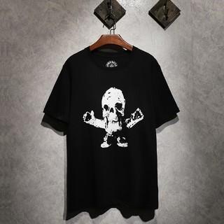 クロムハーツ(Chrome Hearts)のChrome Hearts カッコイイ 男女兼用Tシャツ 半袖 カジュアル(Tシャツ/カットソー(半袖/袖なし))