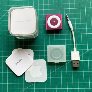 アップル(Apple)のiPod shuffle 2GB(ポータブルプレーヤー)
