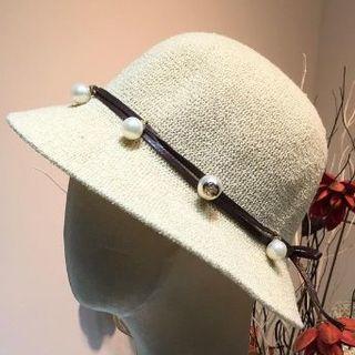 グッチ(Gucci)の 麦わら帽子(麦わら帽子/ストローハット)