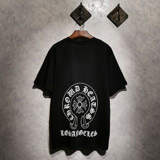 クロムハーツ(Chrome Hearts)のChrome Hearts 半袖 男女兼用Tシャツ カジュアル(Tシャツ/カットソー(半袖/袖なし))