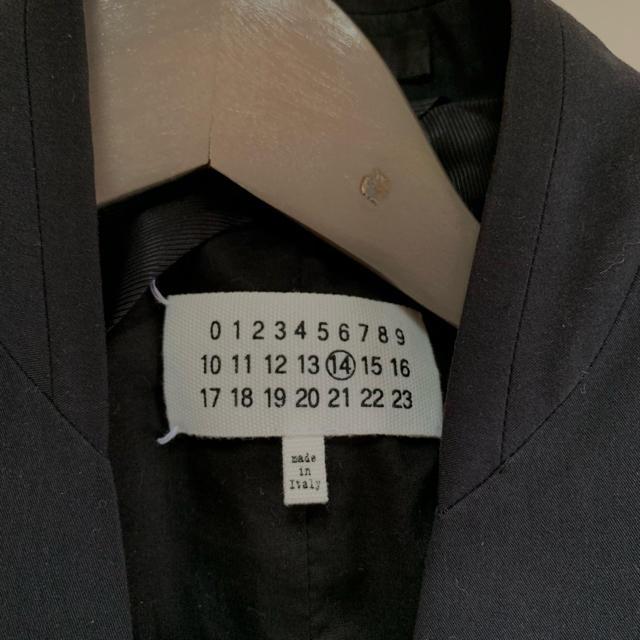 Maison Martin Margiela(マルタンマルジェラ)のMaison Margiela ジャケット メンズのジャケット/アウター(ノーカラージャケット)の商品写真