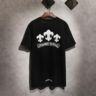 クロムハーツ(Chrome Hearts)のChrome Hearts 男女兼用Tシャツ 半袖 カジュアル(Tシャツ/カットソー(半袖/袖なし))