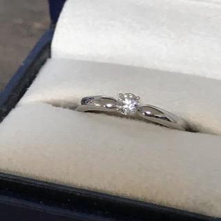 ヴァンドームアオヤマ(Vendome Aoyama)のプラチナ950 ダイヤモンドリング 美品(リング(指輪))