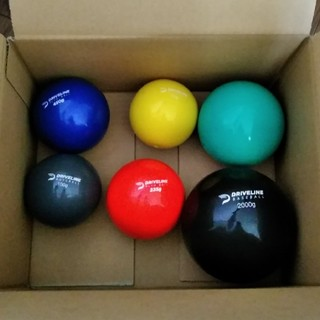 Driveline プライオボール 6個セット 投手 トレーニング MLB(トレーニング用品)
