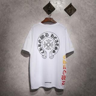 クロムハーツ(Chrome Hearts)のChrome Hearts 快適 夏服 男女兼用Tシャツ カジュアル(Tシャツ/カットソー(半袖/袖なし))
