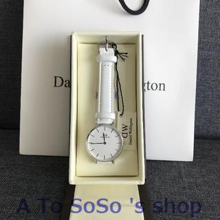 ダニエルウェリントン(Daniel Wellington)の限定お値下げ DW PETITE  BONDI 28ミリ シルバー(腕時計)