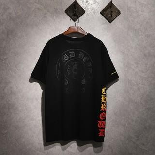クロムハーツ(Chrome Hearts)のChrome Hearts 男女兼用Tシャツ 半袖 夏服 カジュアル(Tシャツ/カットソー(半袖/袖なし))
