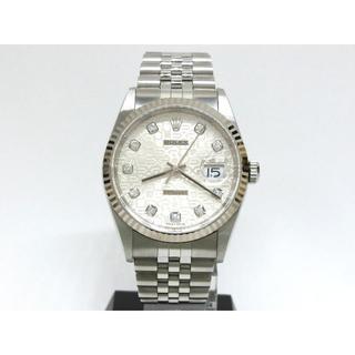 ロレックス(ROLEX)のロレックス デイトジャスト 16234G 10P コンピューター P番 新J P(腕時計(アナログ))
