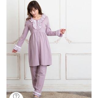スウィートマミー☆長袖パジャマ☆ライラック(薄紫色)