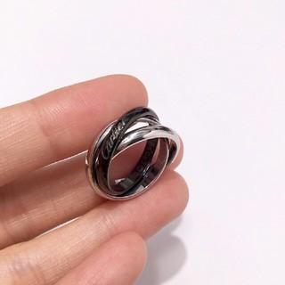 カルティエ(Cartier)のカルティエ 三連 トリニティリング(リング(指輪))