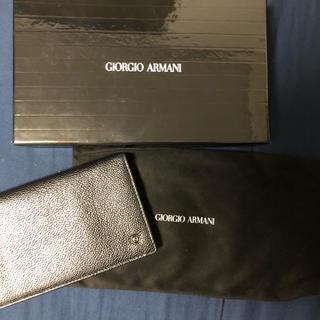 ジョルジオアルマーニ(Giorgio Armani)のジョルジオアルマーニ ARMANI 長財布(長財布)