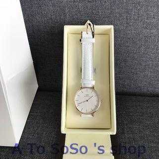 ダニエルウェリントン(Daniel Wellington)の限定お値下げ DW PETITE  BONDI 28ミリ ローズゴールド(腕時計)