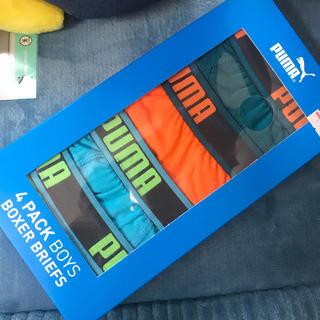 プーマ(PUMA)の【新品未使用】PUMA (プーマ) サイドライン ボクサーパンツ 4着セット(ボクサーパンツ)