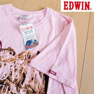 エドウィン(EDWIN)のEDWIN エドウィン Tシャツ ビッグサイズ ビッグロゴ(Tシャツ/カットソー(半袖/袖なし))
