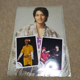 カンジャニエイト(関ジャニ∞)の公式写真とクリアファイル 錦戸亮  匿名配送(ファイル/バインダー)