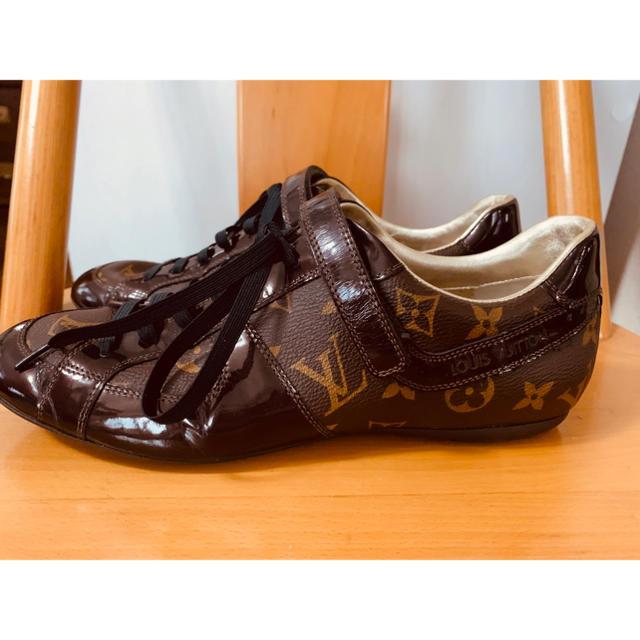 LOUIS VUITTON(ルイヴィトン)の最後のお値下げです 未使用★LOUIS VUITTON ルイヴィトン スニーカー レディースの靴/シューズ(スニーカー)の商品写真