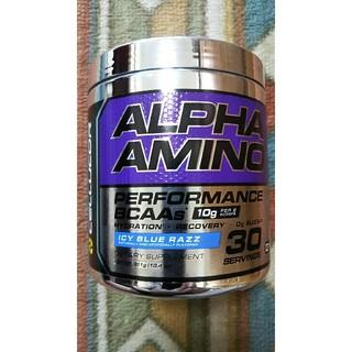 EAA セルコア アルファアミノ 381g アイシーブルーラズ味 必須アミノ酸