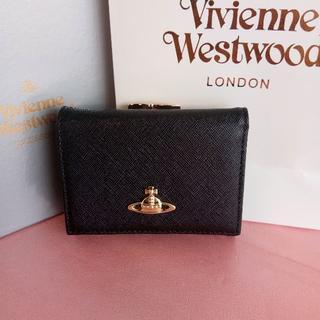 Vivienne Westwood がま口財布 新品 ブラック 可愛い 人気商品