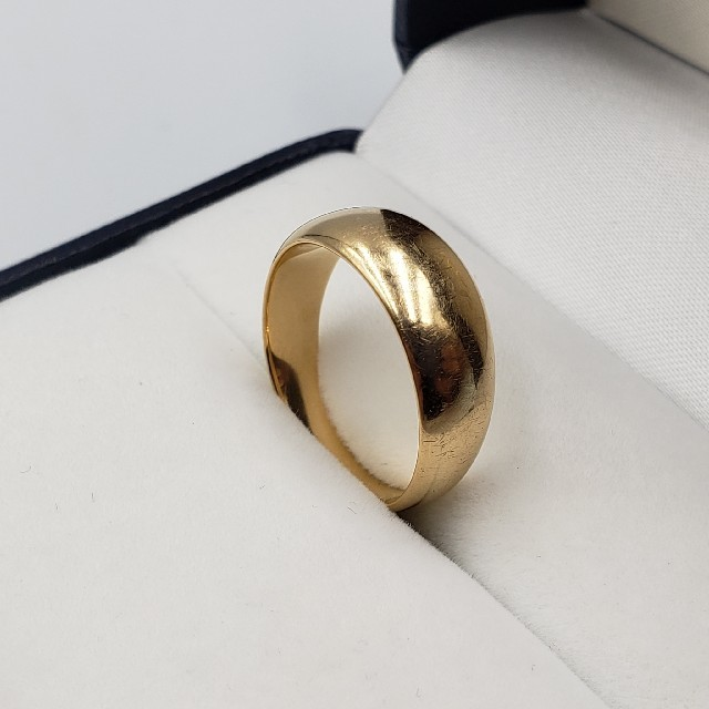 18金イエローゴールドリング 6.4g☆送料無料☆ レディースのアクセサリー(リング(指輪))の商品写真