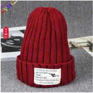 カップル ニット帽 赤色 ニット帽冬 あったか かわいい 防寒 レッド 赤