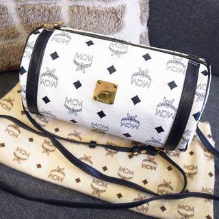 MCM - 正規品☆美品☆MCM ショルダーバッグ 白 2wayバッグ バッグ 財布