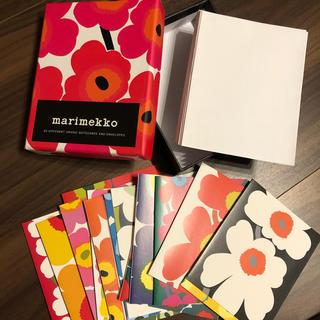 marimekko - 残量17柄 marimekko unikko カードセット 箱あり