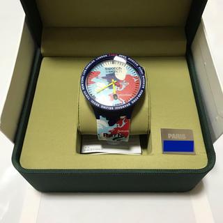 アベイシングエイプ(A BATHING APE)のBAPE × SWATCH BIG BOLD PARIS ベイプ スウォッチ (腕時計(アナログ))