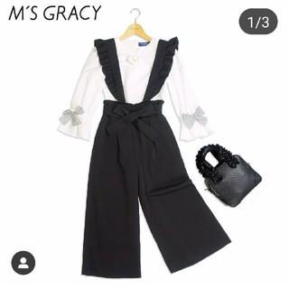エムズグレイシー(M'S GRACY)のインスタ掲載ワイドパンツ38(カジュアルパンツ)