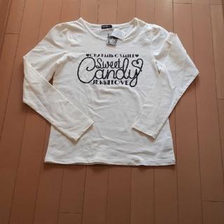 JENNI - 新品未使用タグ付きJenniジェニー白長袖Tシャツ165サイズ