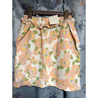 リズリサ(LIZ LISA)の*新品*リズリサ 花柄 ミニスカート(ミニスカート)