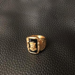 指輪 ライオン メンズ(リング(指輪))