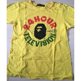 アベイシングエイプ(A BATHING APE)のエイプ 24時間テレビTシャツ(Tシャツ(半袖/袖なし))