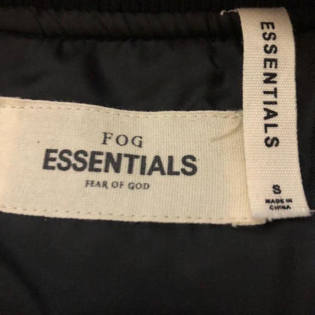 FEAR OF GOD(フィアオブゴッド)のFOG Essentials Bomber Jacket  メンズのジャケット/アウター(ミリタリージャケット)の商品写真