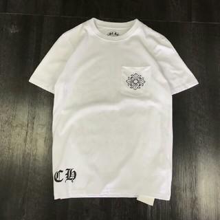 クロムハーツ(Chrome Hearts)の人気品Chrome Hearts Tシャツ ホワイト メンズ M(Tシャツ/カットソー(半袖/袖なし))
