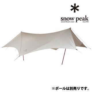Snow Peak - *️⃣極美品*️⃣HDタープ ヘキサエヴォ Pro.アイボリー